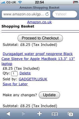 Amazon: Purchased