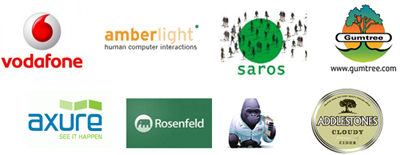 UXCampLondon sponsors