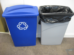 Blog Action Day: waste bins