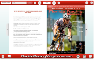 Florida Racing magazine e-zine